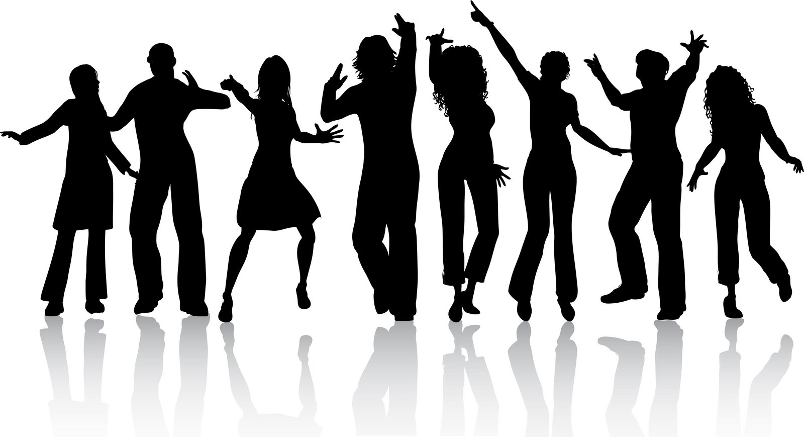Club clipart group dancing Free Clipart Dancer  Download