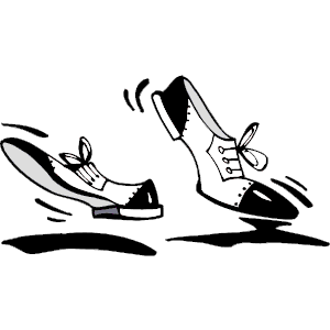 Danse clipart dancing shoe Slippers Collection Clipart Dancing Shoes