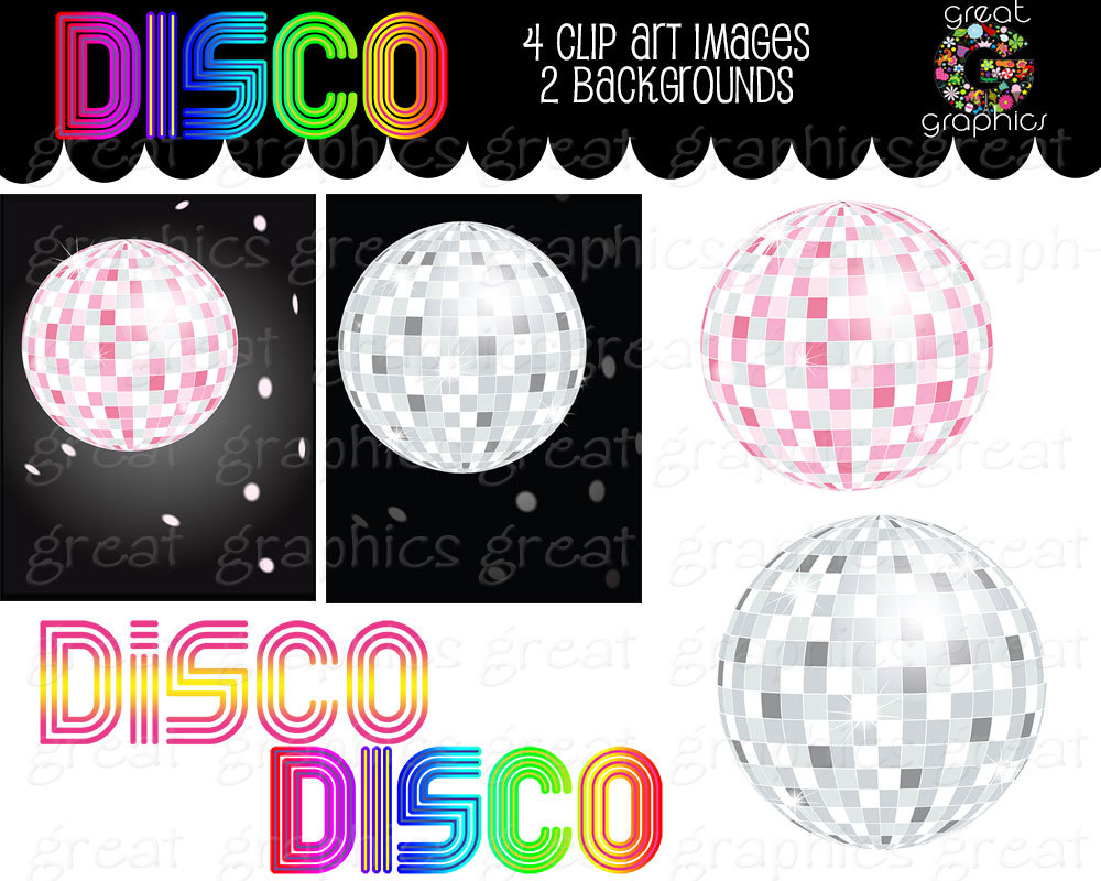 Party clipart 70's Dance Like Clip Disco Disco