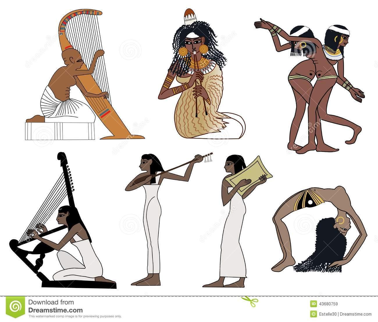 Danse clipart egyption Dance music Clip clipart Egyptian