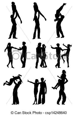 Danse clipart rock n roll Of women roll and roll