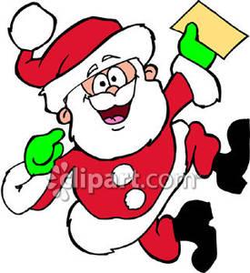 Santa clipart dancing #6