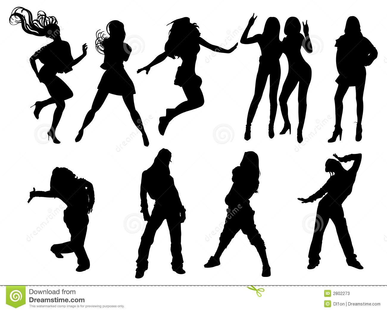 Danse clipart teenager Clipart hip de das dança