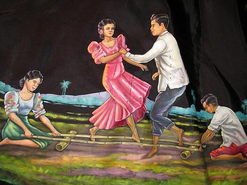 Danse clipart tinikling De to Tinikling pool the