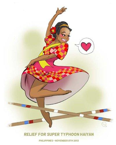 Danse clipart tinikling Explore on Dancer Illustration Salahare