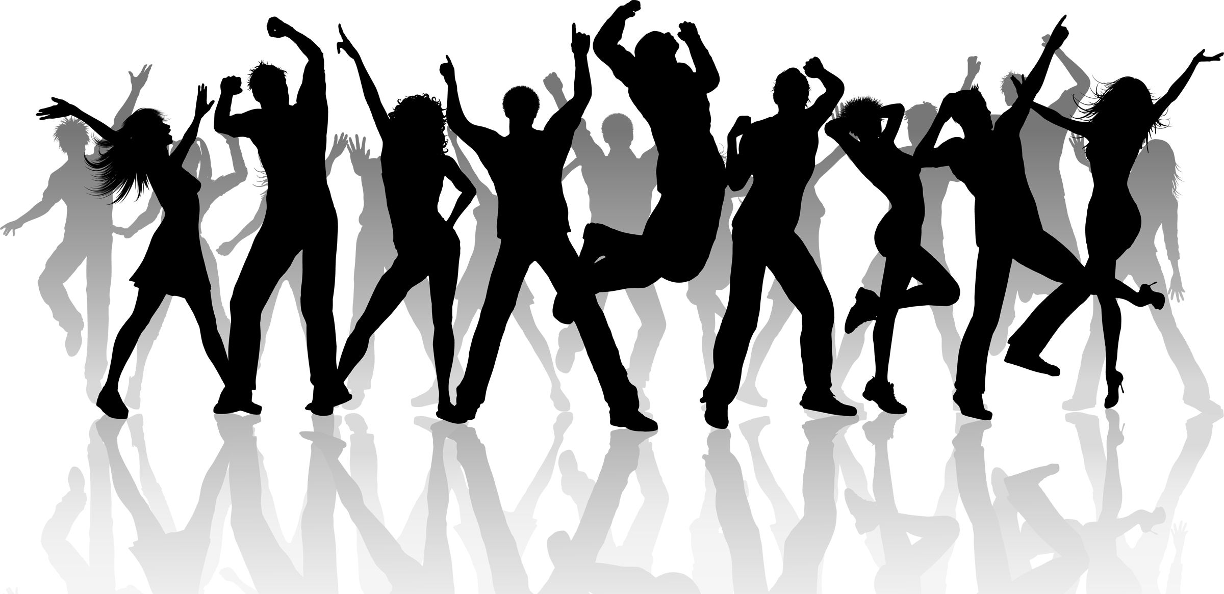 Crowd clipart transparent person Dancing Art  People Free