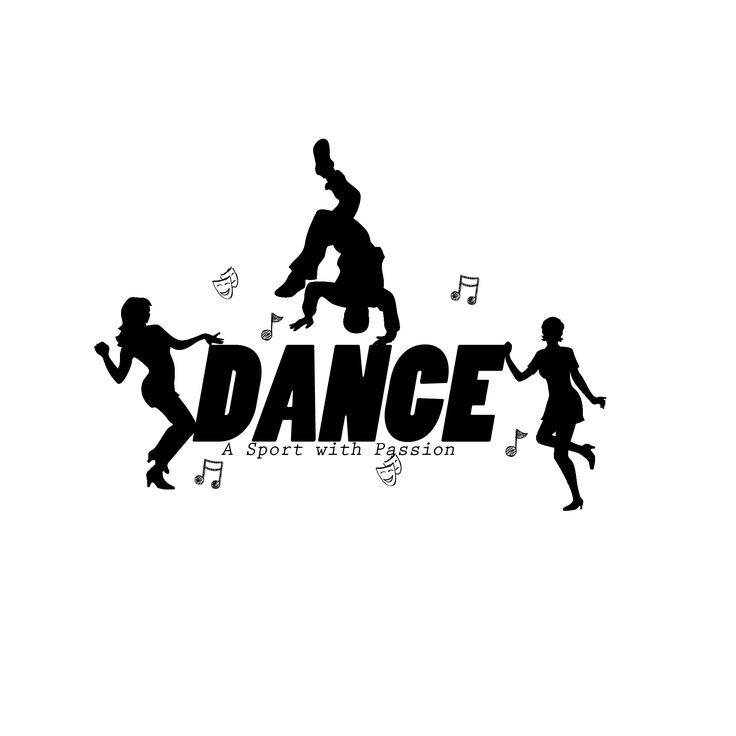 Danse clipart word Art for art word Art