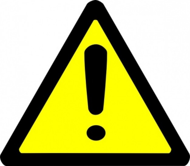 Danger clipart wet floor Sign Chemical  Clipart Collection