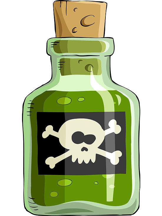 Danger clipart chemical safety  Avoid Chemicals Harmful to