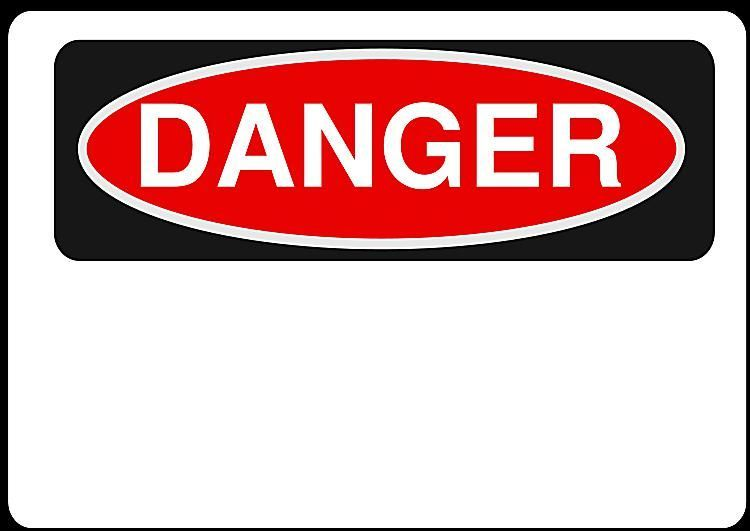 Danger clipart chemical safety Science Here you Safety Signs