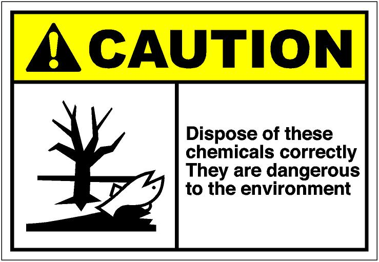 Danger clipart chemical safety Art cautH034 eps the correctly