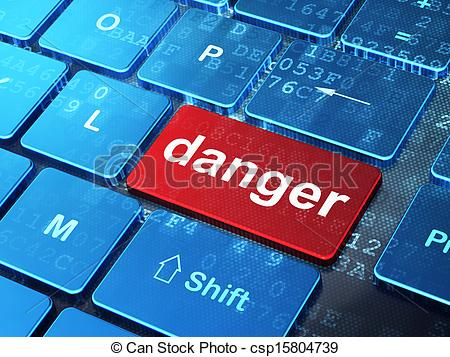 Danger clipart computer Background on on Safety Drawings
