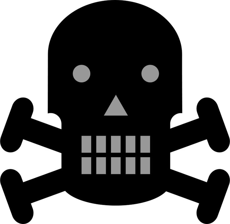 Danger clipart crossbone By pirate on danger clipart