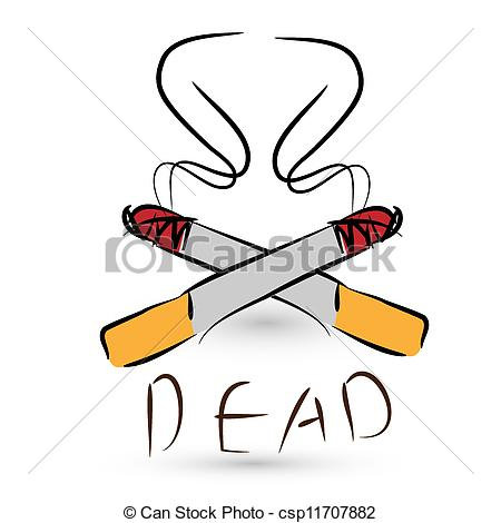 Cigarette clipart quit smoking Of stop concept of cigarettes
