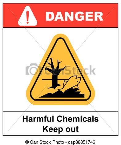 Danger clipart harmful Vector harmful environment aquatic harmful
