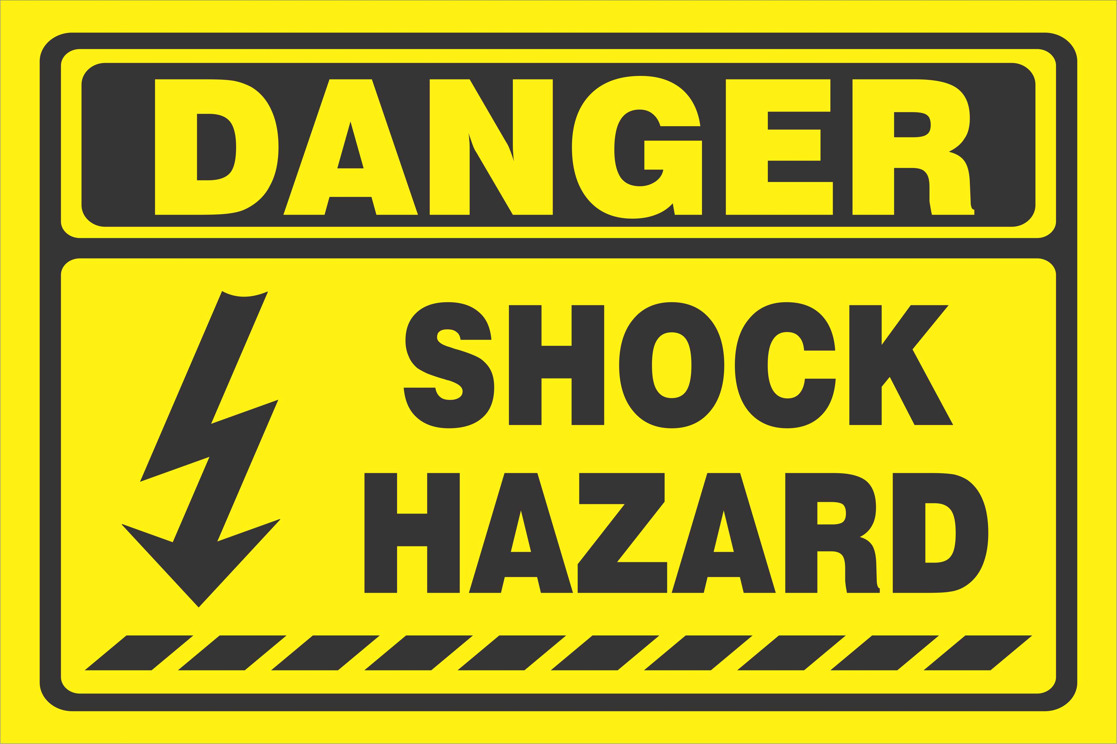 Danger clipart hazard Art Download Sign colored