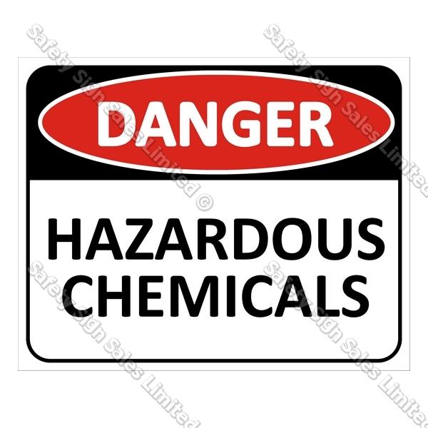 Danger clipart hazardous chemical Chemicals CYO Sales signs Sign