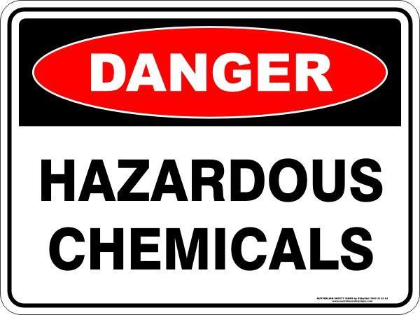 Danger clipart hazardous chemical &  Australian Signs Safety