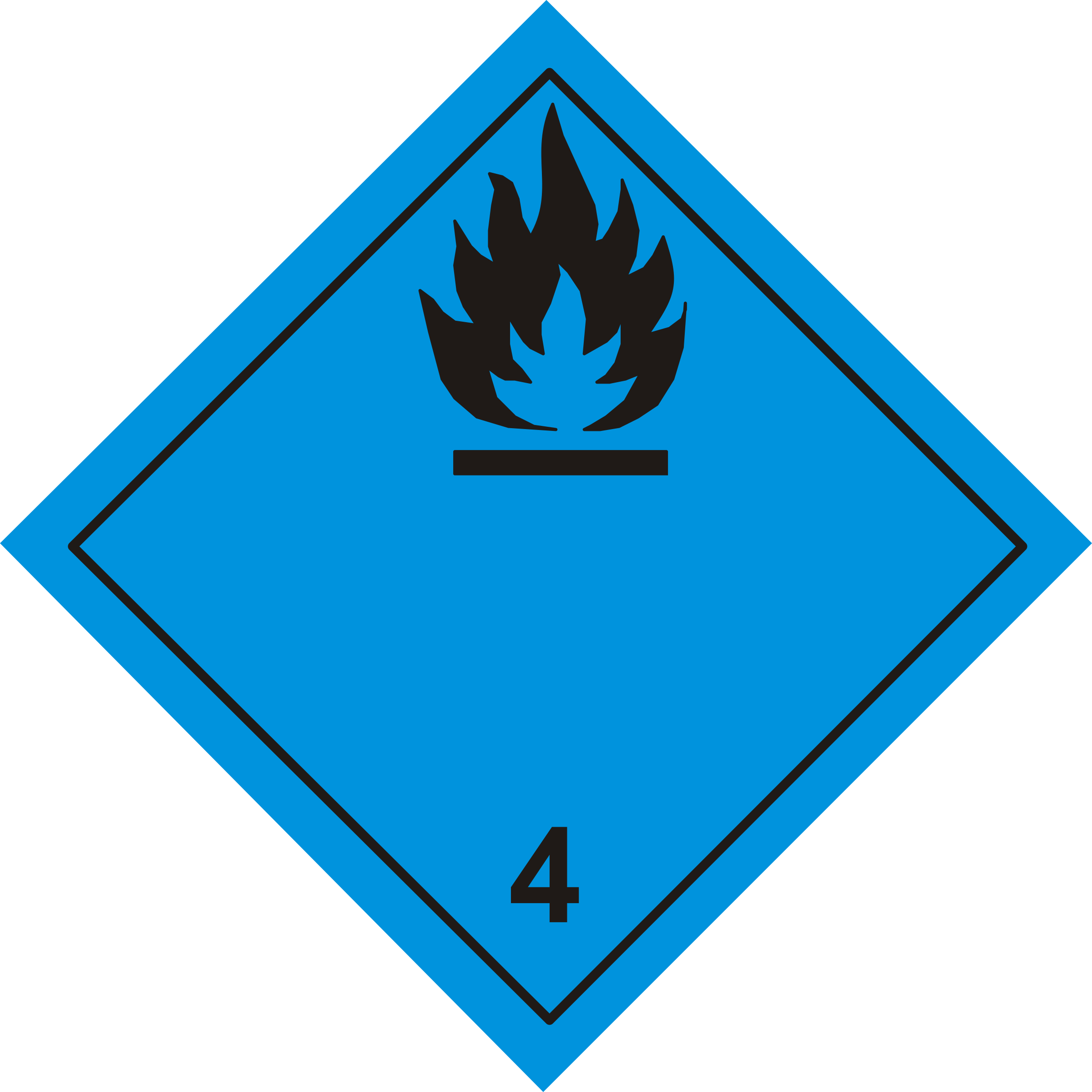 Danger clipart pictogram Pictogram 4 4 Dangerous wet