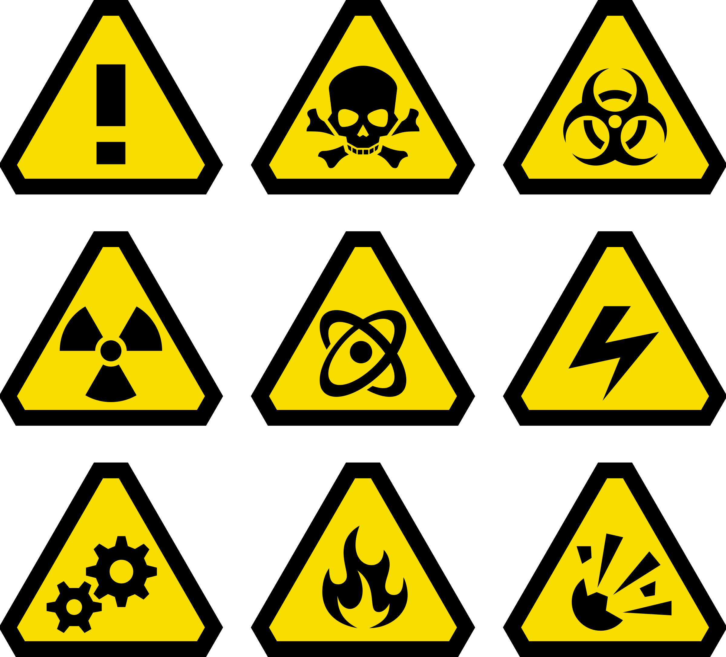Danger clipart warning sign Signs Warning Signs Warning Clipart