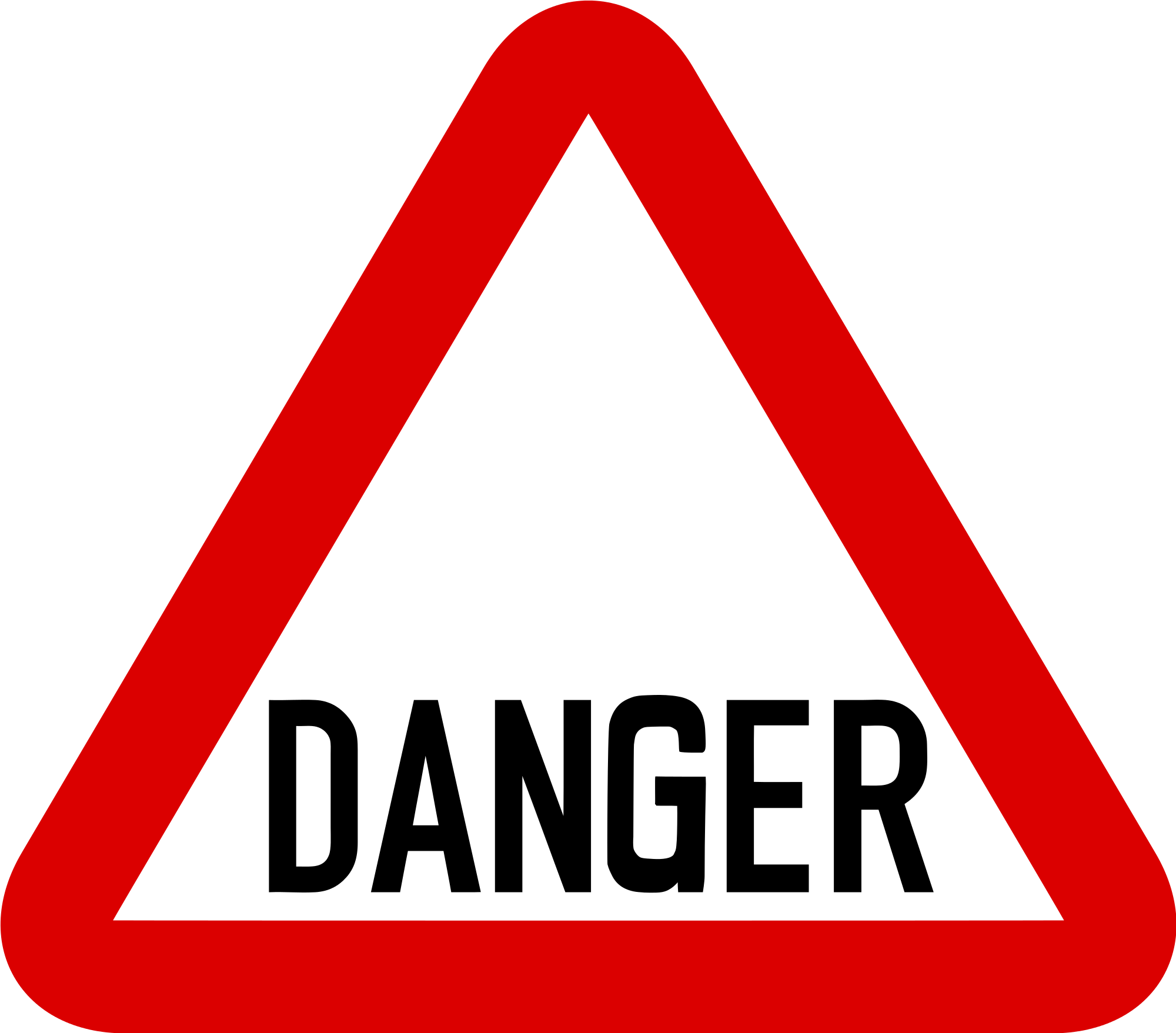 Danger clipart warning sign Download Danger Clip Wikimedia Art