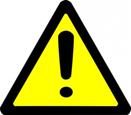 Danger clipart warning sign Cliparts Warning Clipart · Art
