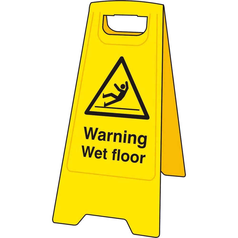 Danger clipart wet floor Floor Wet For Sign For