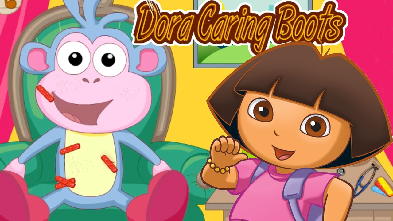 Danse clipart dora Kids Boots Game and Explorer