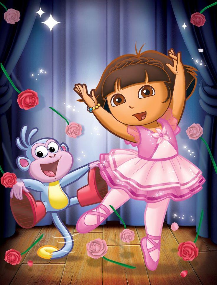 Danse clipart dora AYUDA dvd DE Pinterest Dora