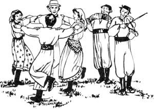 Danse clipart folk dance Folklore The Annual 36th about
