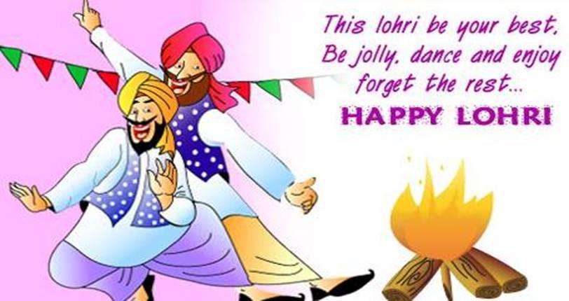 Danse clipart lohri Wishes com English Punjabi lohri