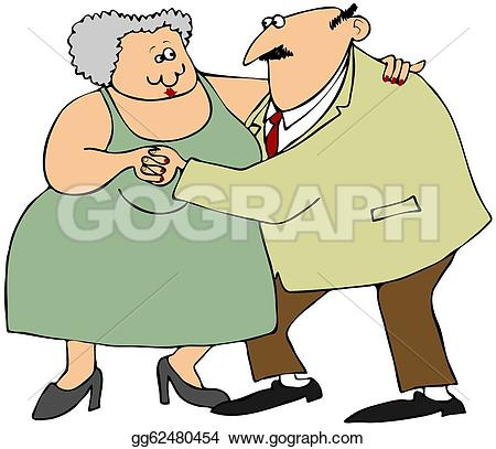 Danse clipart old man Gg62480454 Stock woman This Clip