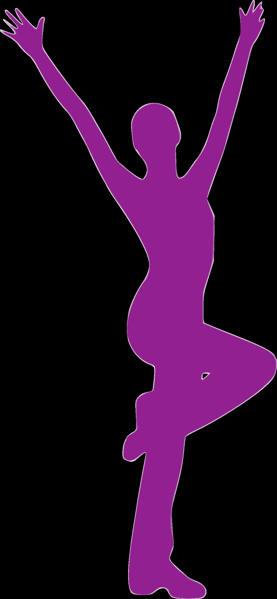 Danse clipart silhouette Silhouette Silhouette Danse Clipart 45
