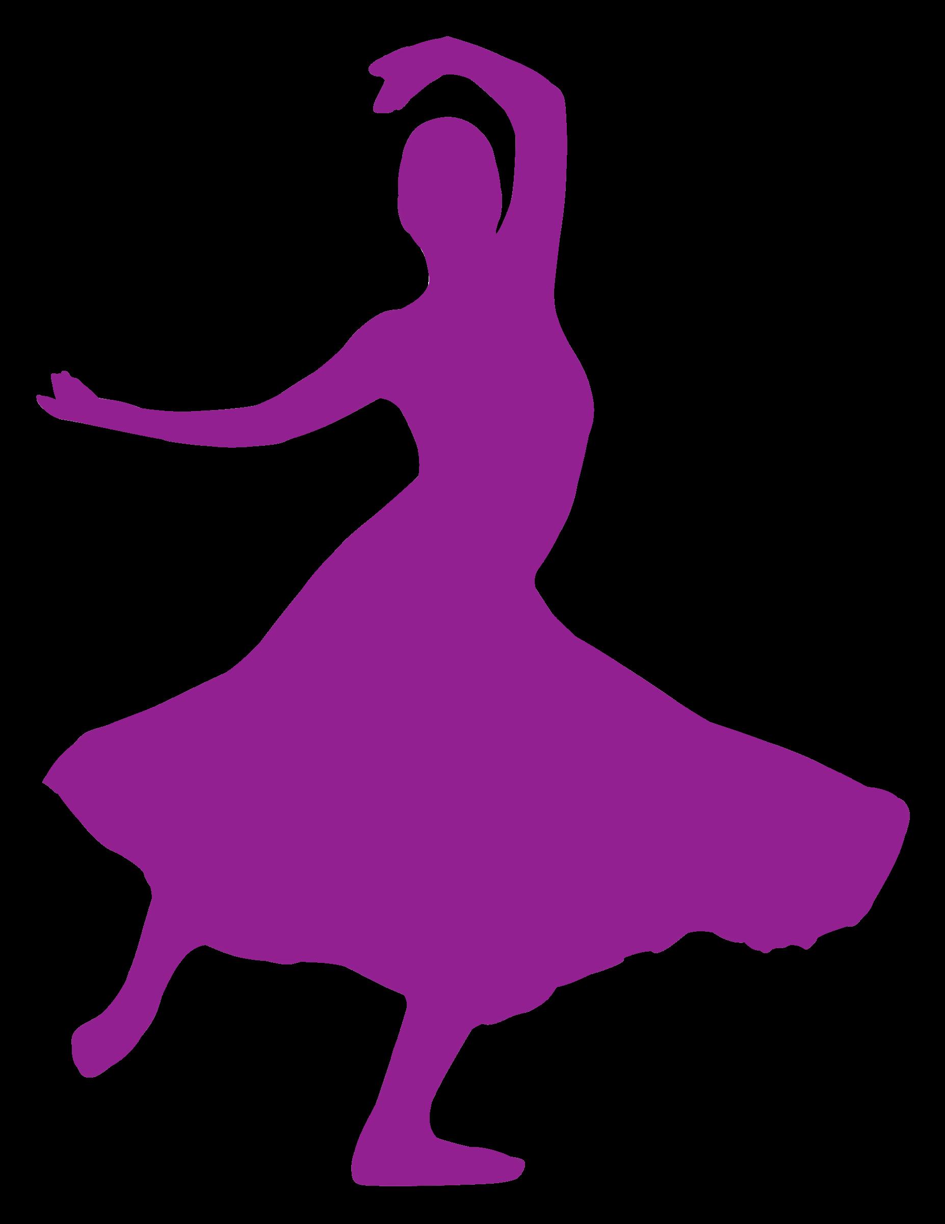 Danse clipart silhouette Silhouette Silhouette Danse Clipart 13