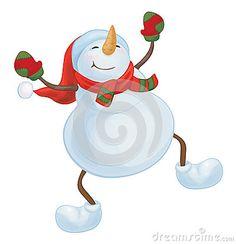 Danse clipart snowman A Line Image: Dancing Clipart