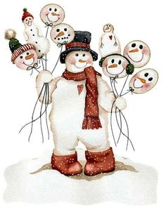 Danse clipart snowman Snowman girls  snow Two