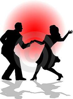 Danse clipart social dance Dance swing Learn  performance