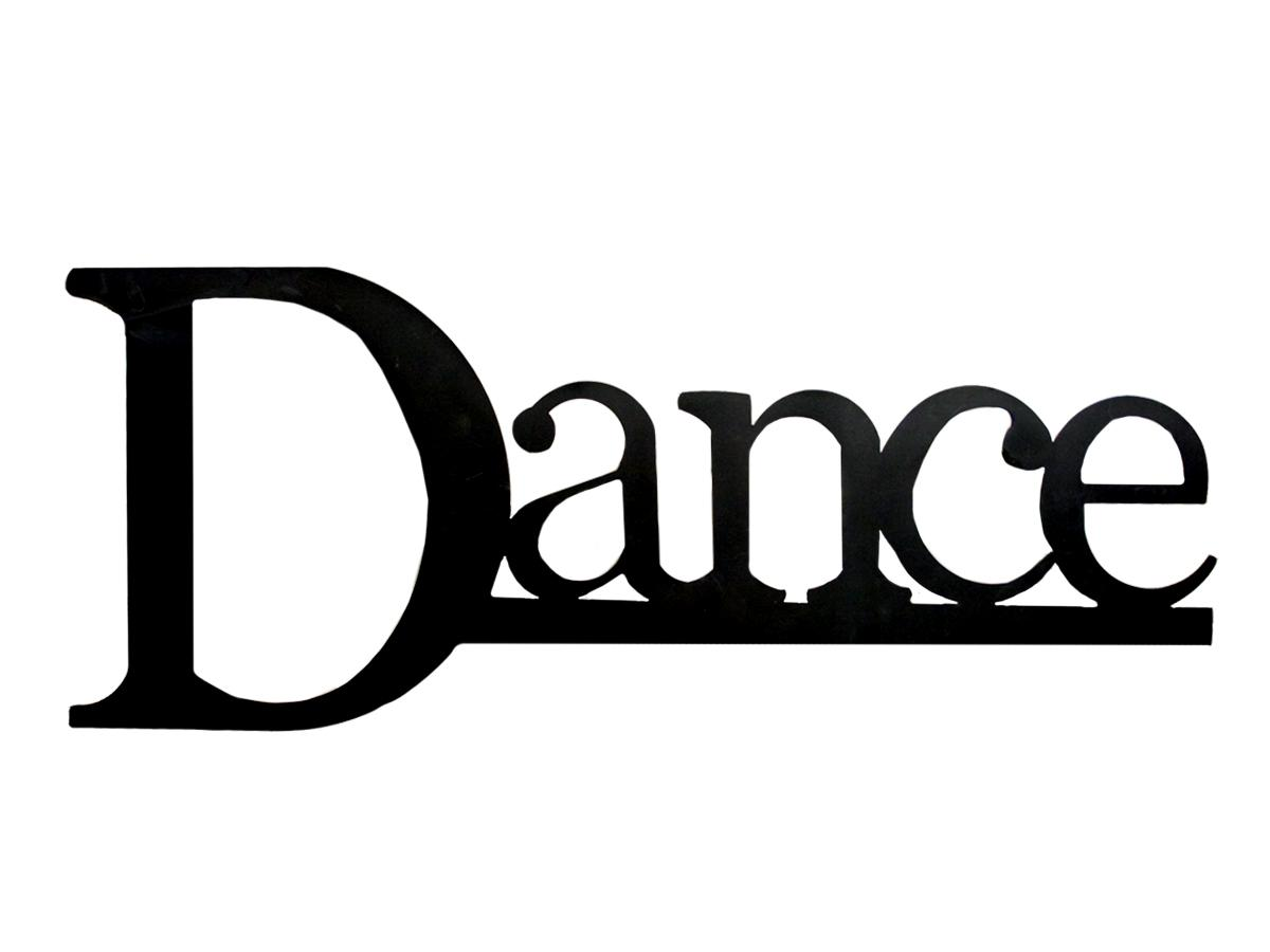 Danse clipart word Dance word ramensrousri: word dance