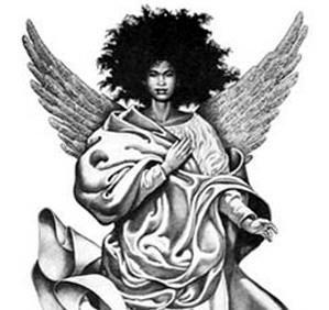 Dark Angel clipart african american 20+ angels Black Pinterest