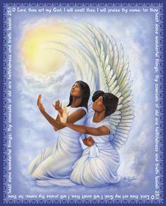 Dark Angel clipart african american Angel African / images ART