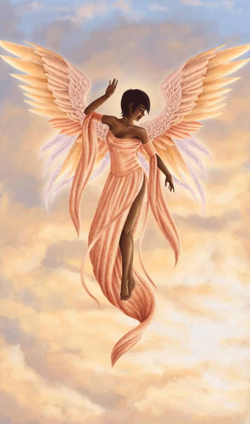 Dark Angel clipart african american Angel AM AM by Angel