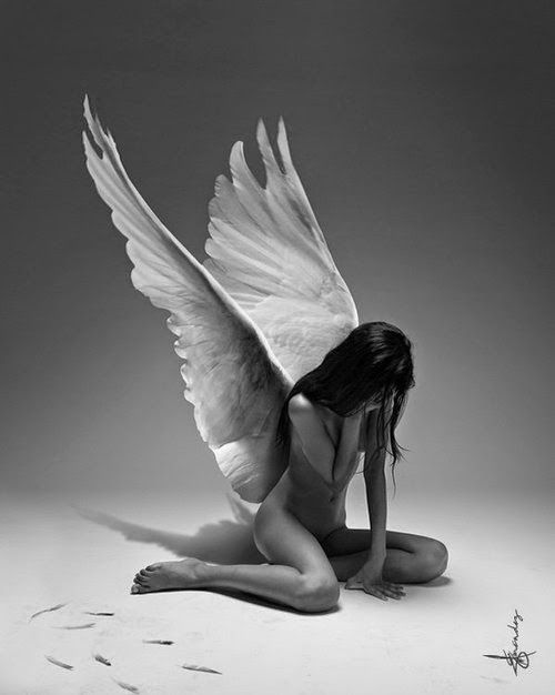 Drawn angel broke #13