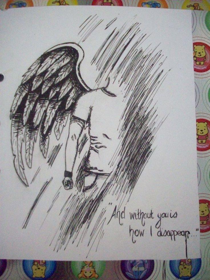 Drawn angel male angel #14