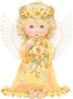 Dark Angel clipart cute angel Baby clipart garden CLIP ROSE