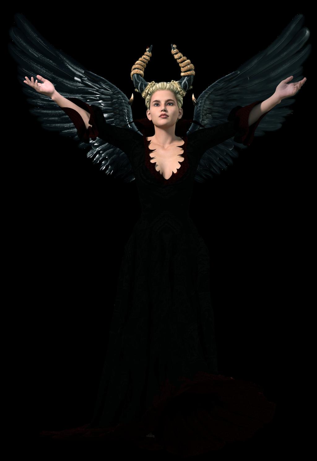 Dark Angel clipart cute angel Dark Images Download Transparent PNG