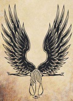 Dark Angel clipart cute angel Clip angel white Image printable