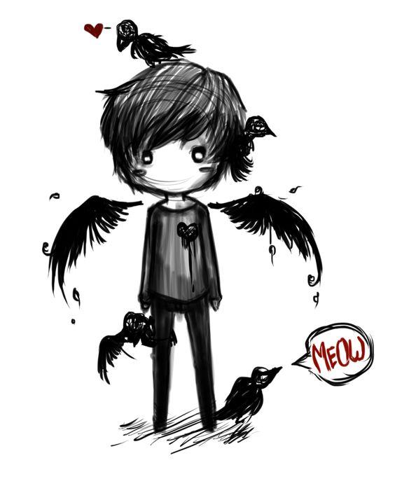 Dark Angel clipart cute angel Angel Zone Fallen clipart fallen