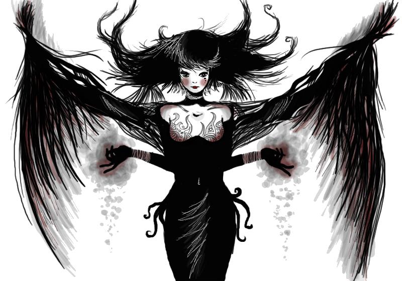 Dark Angel clipart cute angel Angel Free Clip Images Dark