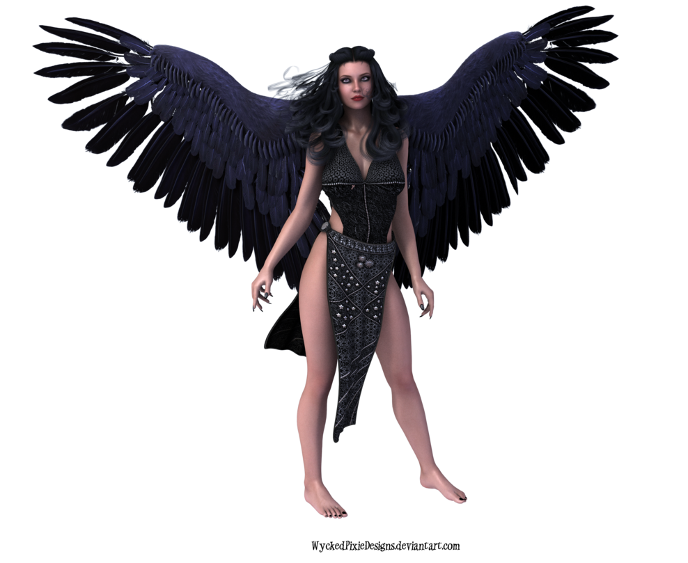 Dark Angel clipart cute angel Transparent Clip Free Download PNG
