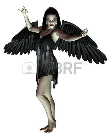 Angel clipart dark hair Download clipart #7 Dark Dark